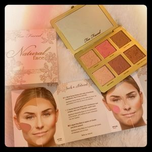 Too Faced Natural Face Palette **BRAND NEW**